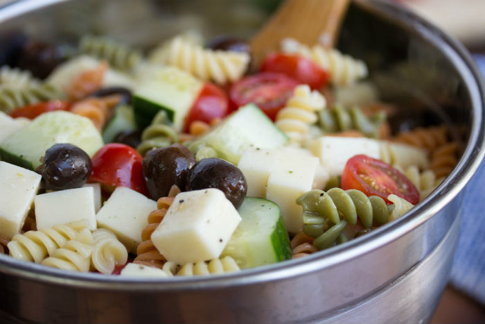 cold italian pasta salad - No Diets Allowedcold italian pasta salad - No Diets Allowed