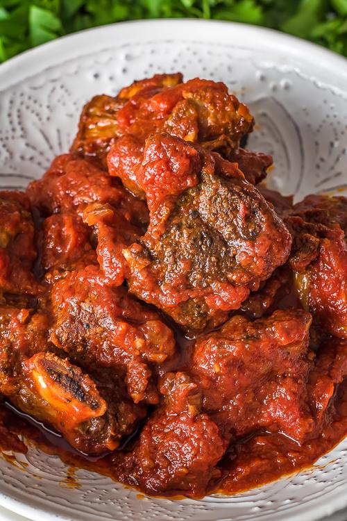 Braised Beef Short Ribs Recipe - No Diets Allowed #Food #Foodie