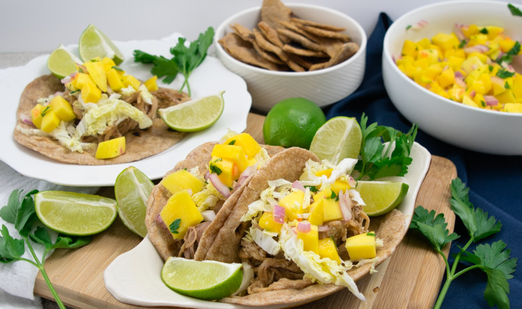 Pork Tacos Reciepe Marinade - No Diets Allowed #Food #Foodie #PorkTacos