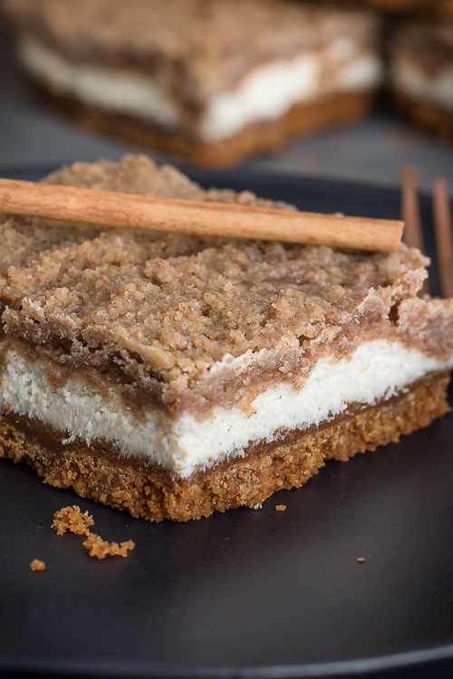 Snickerdoodle Cheesecake Bars Recipe – No Diets Allowed #Yummy #Food #Foodie #Cheesecake
