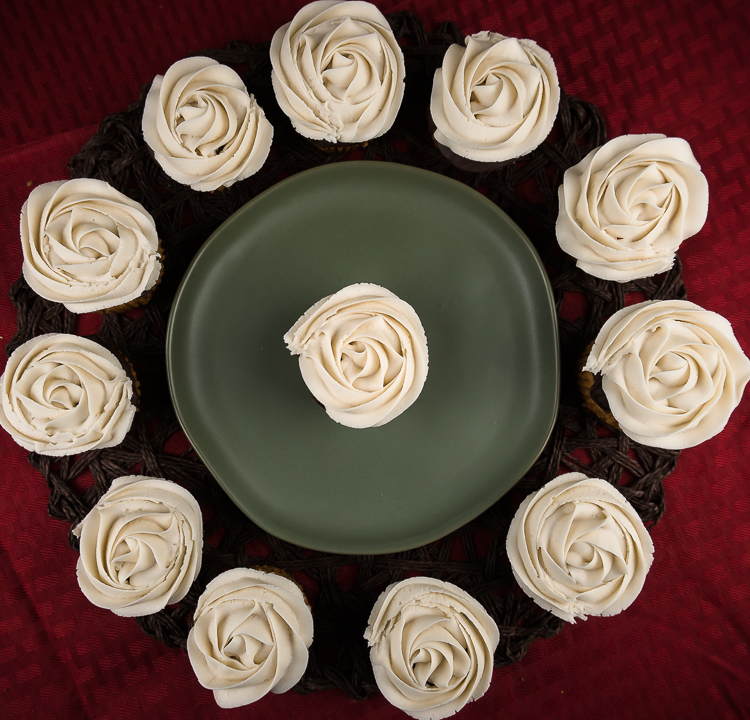 Healthy Sweet Potato Pie Cupcakes - No Diets Allowed #CupCakes #SweetPotato #Food #Foodie