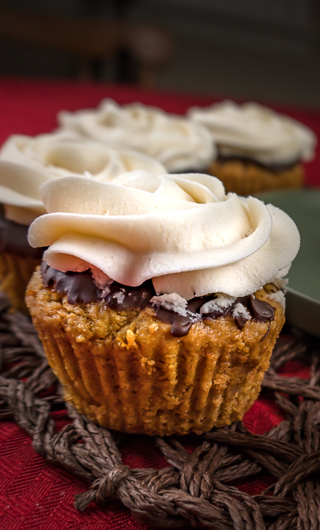 Healthy Sweet Potato Pie Cupcakes - No Diets Allowed #CupCakes #SweetPotato #Food #Foodie