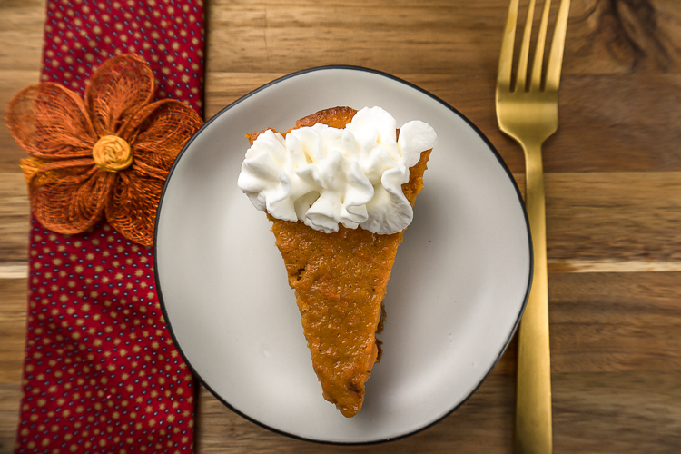 Easy Simple Sweet Potato Pie Recipe - No Diets Allowed #Food #Foodie