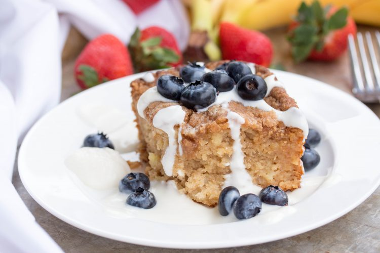 Crumb Coffee Cake Recipe - No Diets Allowed