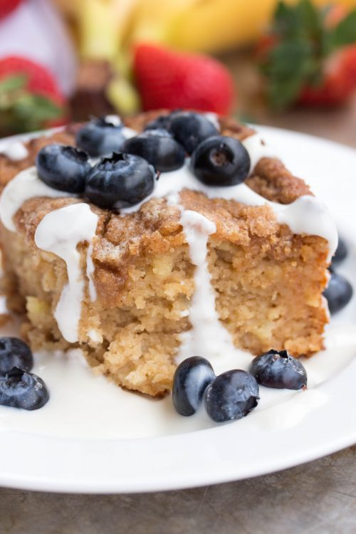 Apple Crumb Coffee Cake Recipe - No Diets Allowed