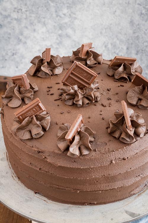 best homemade moist chocolate cake recipe from NoDietsAllowed.com