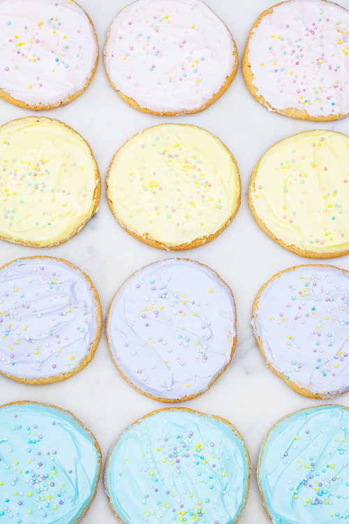 Easy Easter Sugar Cookie Recipe - No Diets Allowed
