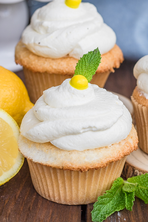 Easy Lemon Cupcakes Recipe from Scratch - No Diets Allowed