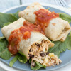 Mexican Baked Chicken Burritos