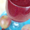 Berry Red Plum Smoothie