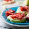 Apple Fruit Sandwiches