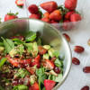 Easy Strawberry Spinach Salad