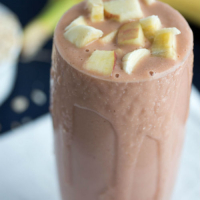 Banana Apple Oatmeal Smoothie