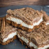 Snickerdoodle Cheesecake Bars Recipe