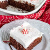 Easy Chocolate Peppermint Cake Recipe