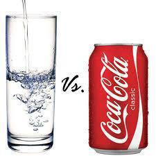 Water vs. Coke