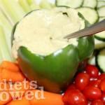 Basic Hummus- No Diets Allowed