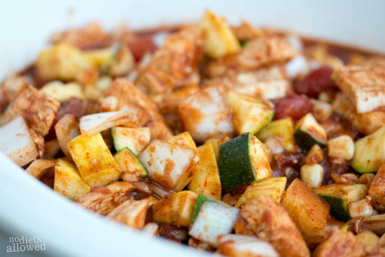 chicken fiesta soup - No Diets Allowed