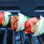 chicken skewers recipe- No Diets Allowed