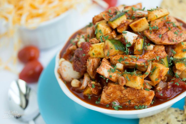 fiesta soup - No Diets Allowed