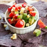 Fresh Corn Salsa- No Diets Allowed