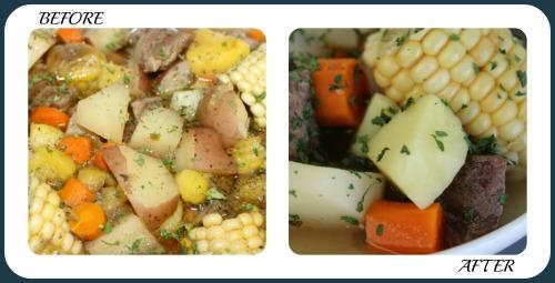 Golden Harvest Stew Collage- No Diets Allowed