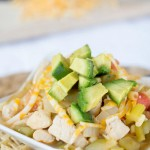 easy chicken tortilla soup- No Diets Allowed
