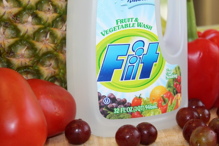 fit fruit and vegetable wash I was recently sent a 350ml bottle of fit to review fit is an antibacterial fruit and vegetable wash made of all natural ingredients the concept behind fit is to clean away all pesticides and bacteria.