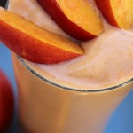 Creamy Peach Smoothie- No Diets Allowed