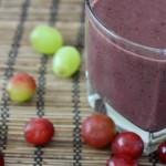 Grape Berry-licious Smoothie- No Diets Allowed