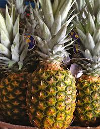 Tutorial: How to cut a fresh pineapple.