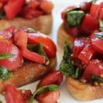 Classic Bruschetta- No Diets Allowed