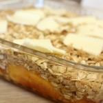 Easy Peach Crisp- No Diets Allowed