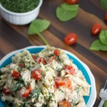 creamy cauliflower alfredo sauce - No Diets Allowed