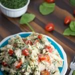 creamy cauliflower alfredo sauce - No Diets Allowed