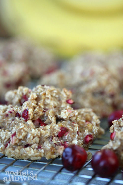 oatmeal breakfast cookies- No Diets Allowed