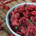 Cranberry Relish- No Diets Allowed
