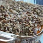 Healthy Sweet Potato Casserole- No Diets Allowed