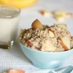 Apple Cinnamon Oatmeal- No Diets Allowed