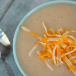 easy creamy potato soup- No Diets Allowed