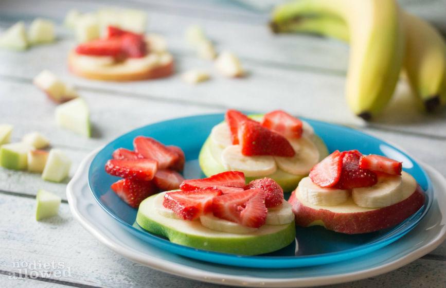 Apple Banana Sandwich- No Diets Allowed