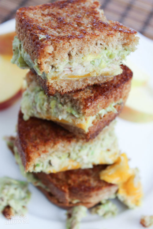 grilled tuna sandwich recipe - No Diets Allowed
