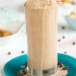 peanut butter banana chocolate smoothie- No Diets Allowed