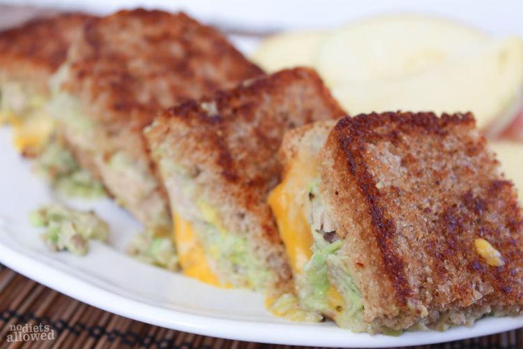 Grilled Tuna Cheese Sandwich