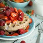 Recipe for Raspberry Waffles - No Diets Allowed