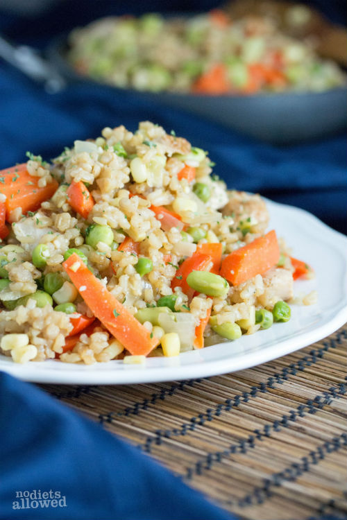 stir fry rice recipes - No Diets Allowed