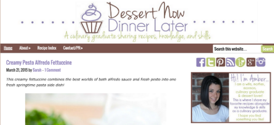 start my own blog - No Diets Allowed