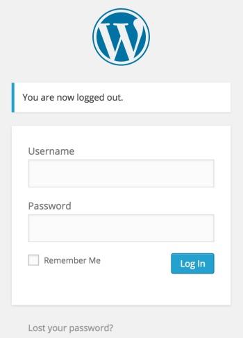 wordpress login - No Diets Allowed