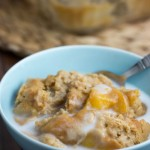 easy peach cobbler - No Diets Allowed