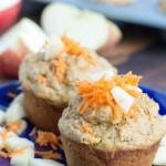 morning glory muffin - No Diets Allowed